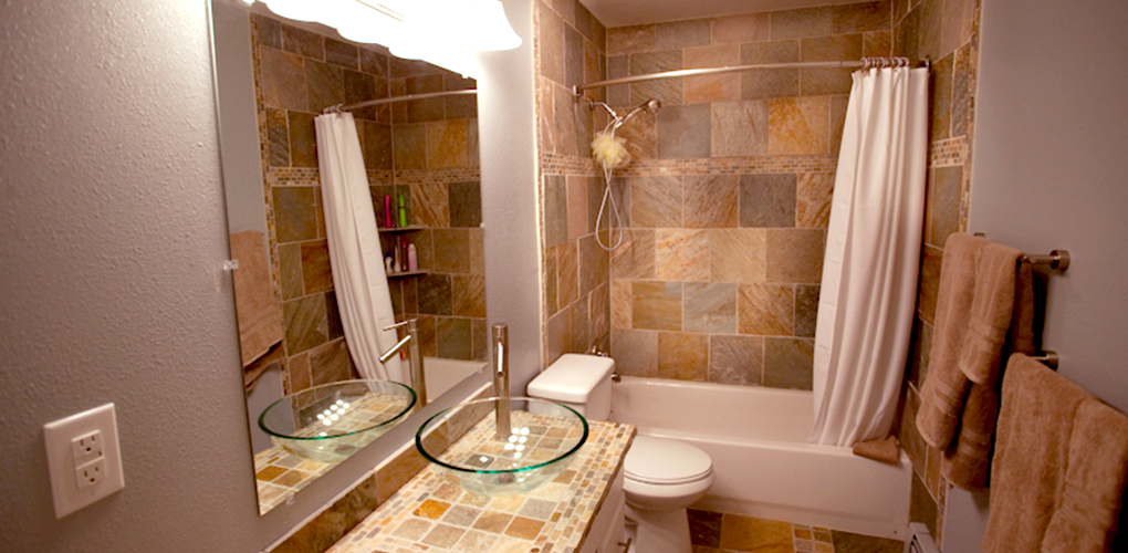 Small bath remodel derks construction for Bathroom remodel anchorage