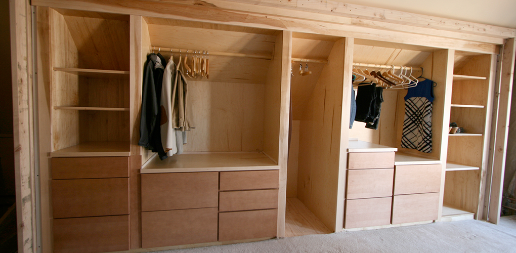 Built in bookcase and closets derks construction for Bookcase closet
